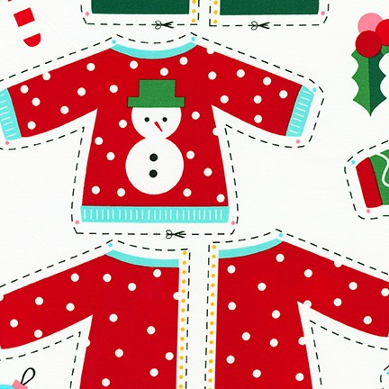 Girl Friends Holiday Party fabric