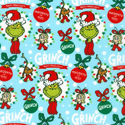 How the Grinch Stole Christmas fabric