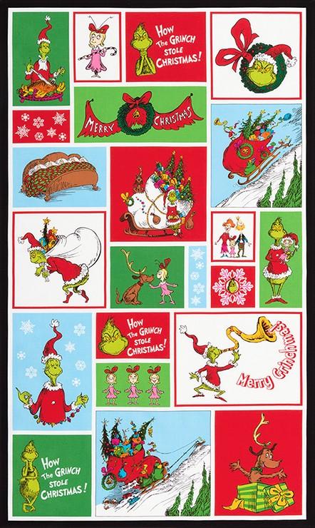 Robert Kaufman Fabrics How The Grinch Stole Christmas By