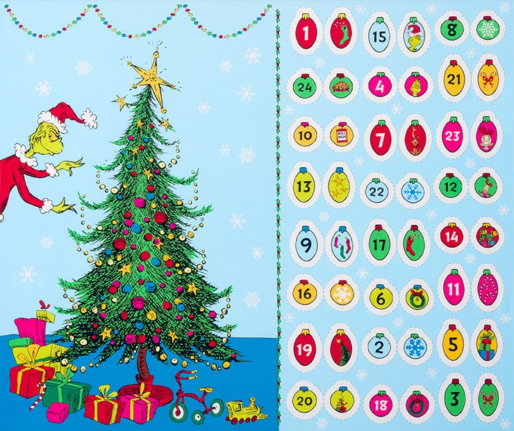 robert kaufman fabrics ade 17489 223 holiday by dr seuss enterprises from how the grinch stole christmas