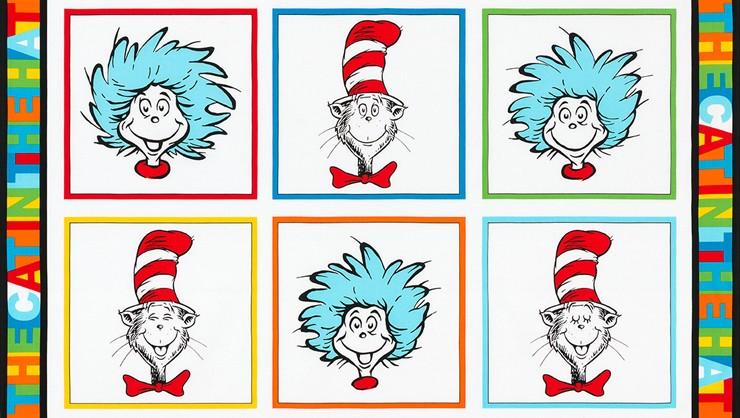 7bcbcd90 Robert Kaufman Fabrics: The Cat in the Hat by Dr. Seuss Enterprises ...