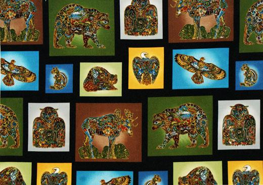 Robert Kaufman Fabrics Animal Spirits By Sue Coccia