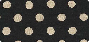 Pattern Sevenberry: Canvas Natural Dots