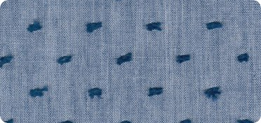 Pattern Swiss Dot Chambray