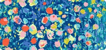 Pattern Painterly Petals