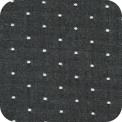 Cotton Chambray Dots