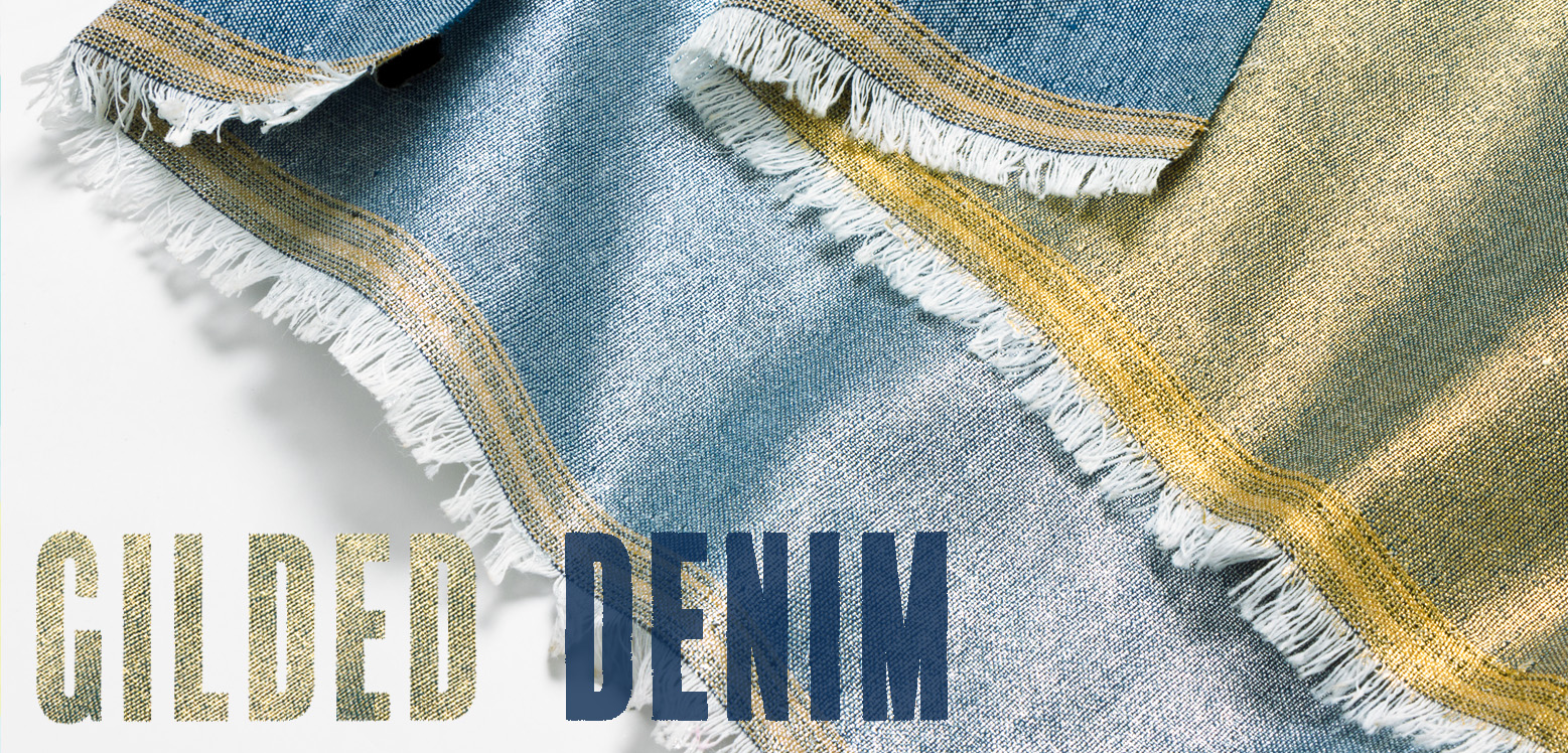 Pattern Gilded Denim