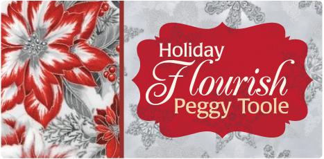 Robert Kaufman Fabrics Holiday Flourish 7 By Peggy Toole