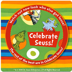 Pattern Celebrate Seuss!
