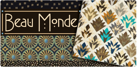 Beau Monde: Cotton Quilting Collection