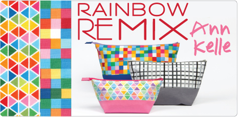 Rainbow Remix by Ann Kelle: Cotton Quilting Collection