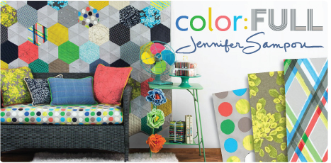 Color: FULL by Jennifer Sampou: Cotton Quilting Collection