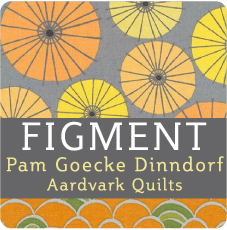 Figment by Pam Goecke Dinndorf: Cotton Quilting Fabric