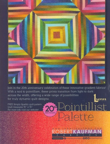 Robert Kaufman Fabrics: Media | Pointillist Palette 20th Anniversary (full page)