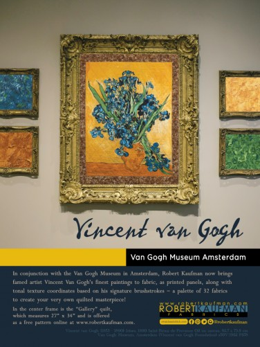 Vincent Van Gogh (full page ad)