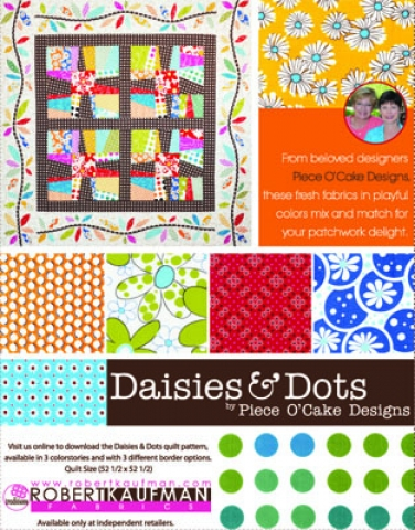 Robert Kaufman Fabrics: Media | Daisies and Dots