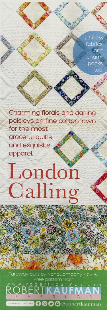 Robert Kaufman Fabrics: Media | London Calling