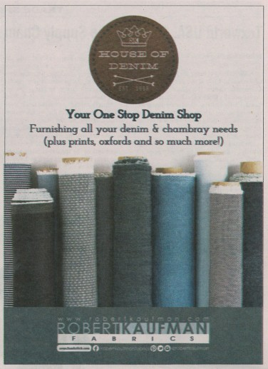 Robert Kaufman Fabrics: Media | House of Denim