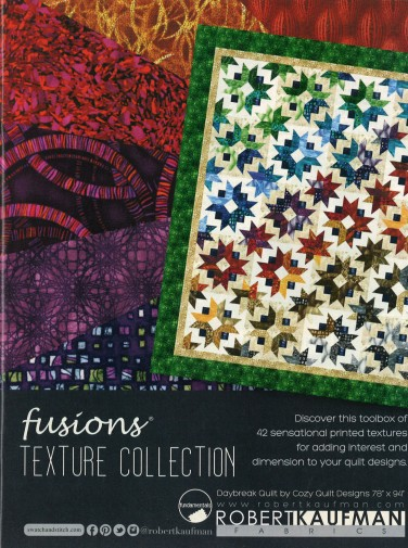 Robert Kaufman Fabrics: Media | Fusions Texture Collection (full page)
