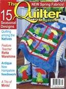 More about The Quilter