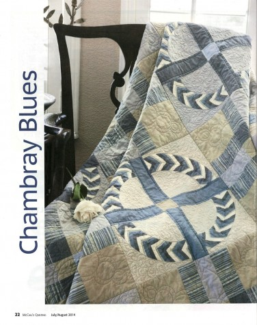 Chambray Blues quilt