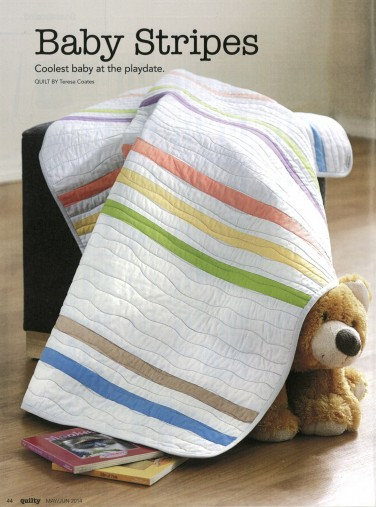 Baby Stripes Quilt