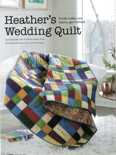 Heather's Wedding Quilt