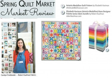 Spring Quilt Market Review