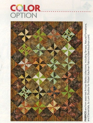 Color Options: Artisan Batiks