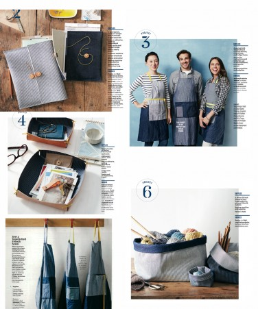 Denims and Essex Yarn Dyes in Martha Stewart Living!