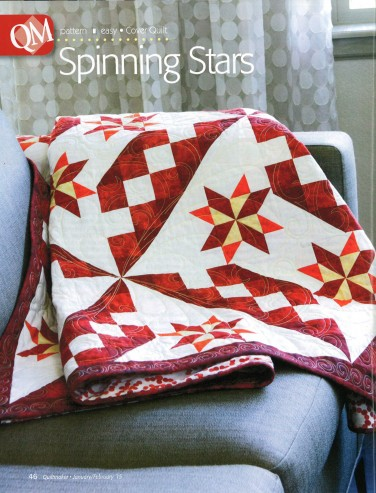 Spinning Stars quilt ft. Fusions