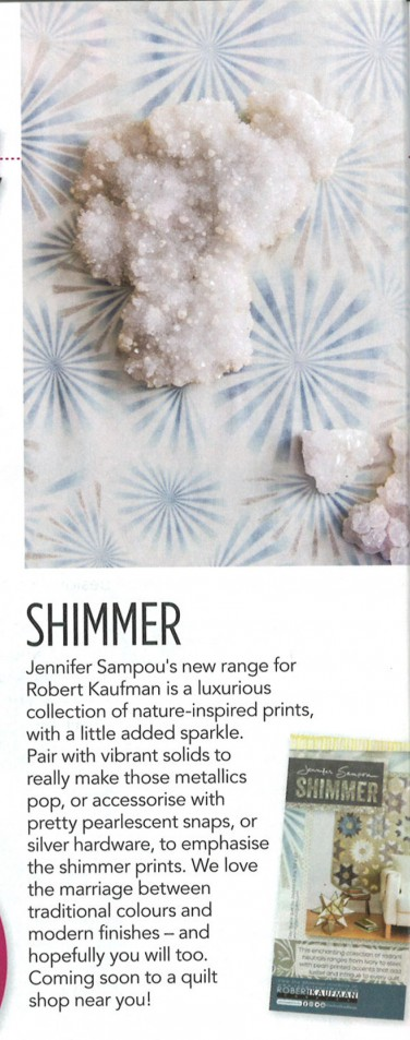 Shimmer by Jennifer Sampou feature