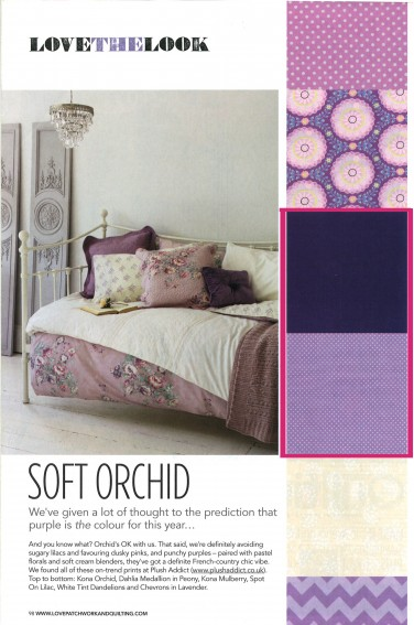 """Soft Orchid"" Kona & Spot On feature"