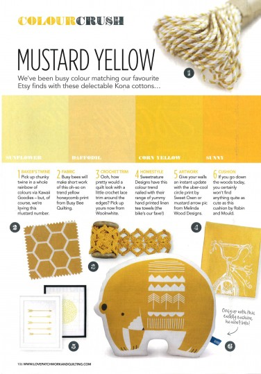 Colour Crush: Mustard Yellow ft. Kona Cotton