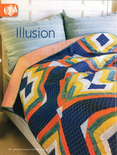 """Illusion"" quilt designed by Shayla Wolf"