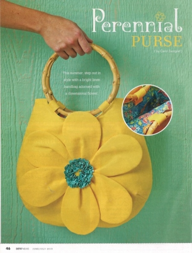Perennial Purse by Carol Zentrgraf
