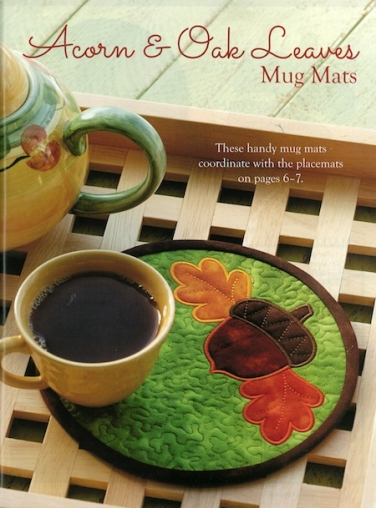 Acorn & Oak Leaves Mug Mats