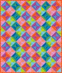 Robert Kaufman Free Quilt Pattern - Striped Squares