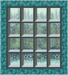 Pattern Tranquil Views: Teal