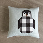 Pattern Penguin Party: Penguin Party Pillow