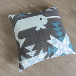 Pattern North Stars: Narwhal Pillow