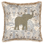 Fabric Elephant Pillow