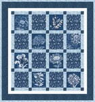 Fabric Floral Blueprints