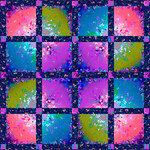 Pattern Bright Side Blocks