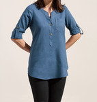 Pattern Cheyenne Tunic: Sizes: XS - 2X