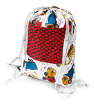 Pattern Drawstring Backpack