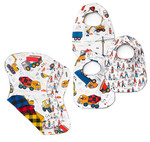 Pattern Simple Bib and Burp Cloth