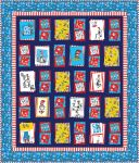Fabric Bump Thump Panel Quilt