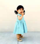 Pattern Caroline Party Dress: Size 6m-12m