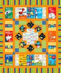 Robert Kaufman Free Quilt Pattern - Book Fair